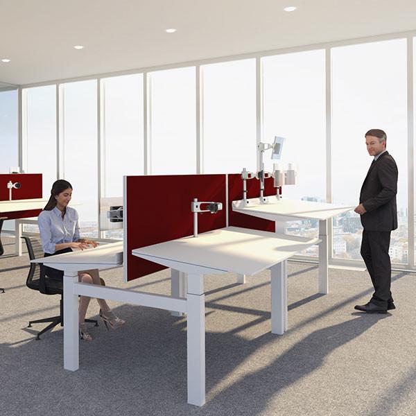 Bureau assis debout incliné réglable ERGOBLIC