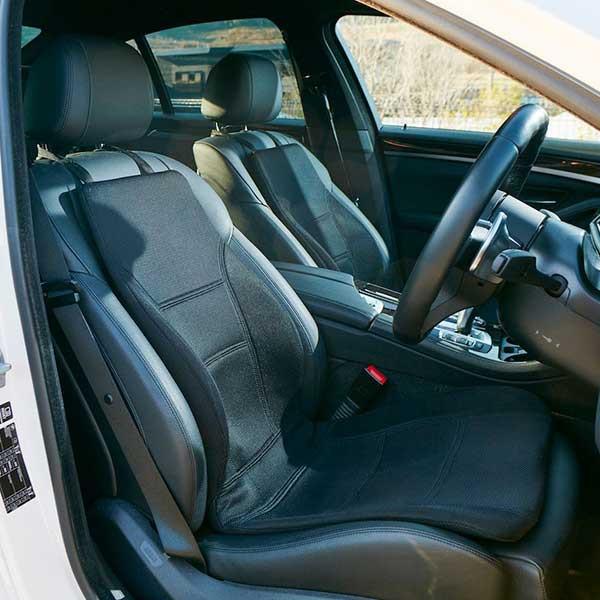 Assise ergonomique posturale Kiero Driver pour la voiture