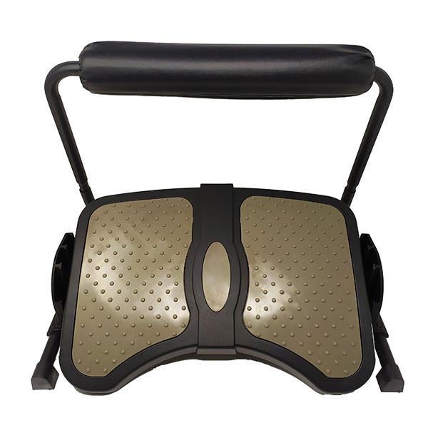 Repose-pieds ergonomique réglable avec appui Ergostretch