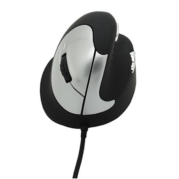 Souris vertical ergonomique R-Go HE Mouse pour prévenir les TMS