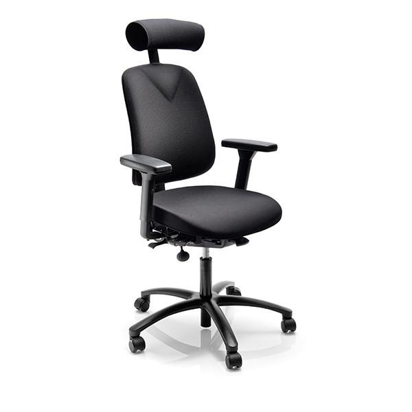 Höganäs + sièges ergonomiques adaptables - gris