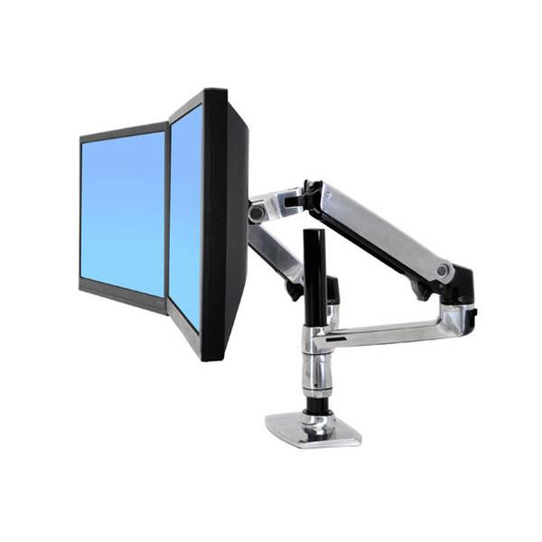 Bras LX Ergotron double pour 2 écrans LCD