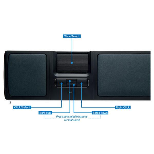 Pointeur central MouseTrapper Lite