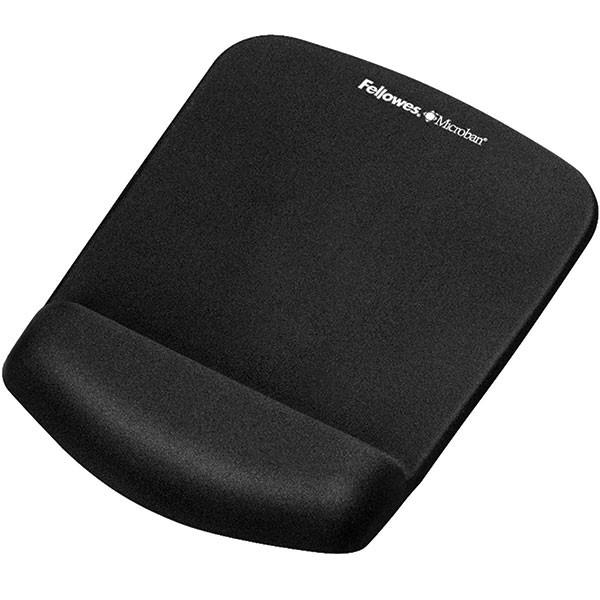 Repose-poignet ergonomique avec tapis de souris intégré Plush Touch