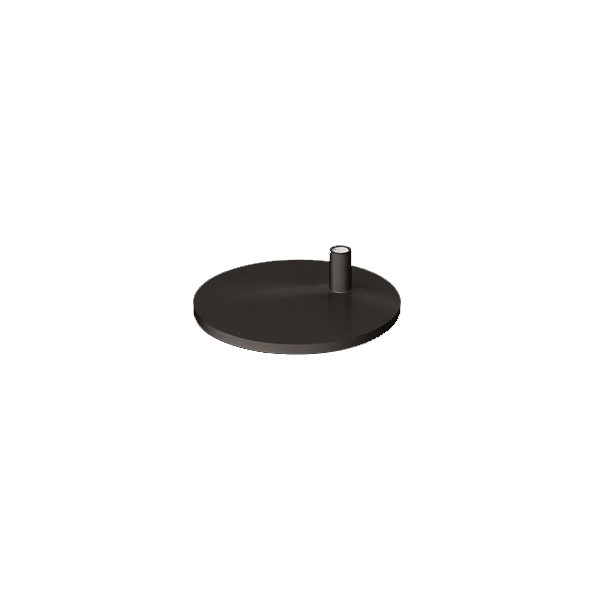 Lampe de bureau professionnelle Waldmann PARA.MI socle noir