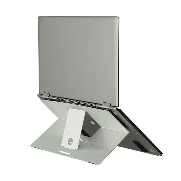 Support pliable ergonomique pour ordinateur portable
