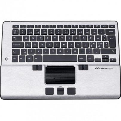 MouseTrapper Alpha est un pointeur central compact avec clavier intégré