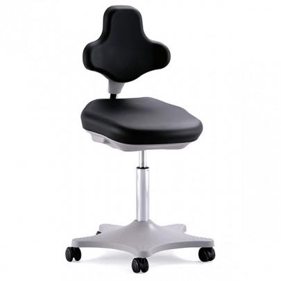 Siège ergonomique sur roulettes Labster 2 et 3 pour laboratoire ou espaces ESD